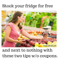 Stock your fridge for free with gleaners and harvest.