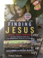 Finding Jesus book giveaway