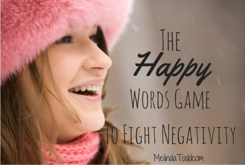 The Happy Words Game To Fight Negativity