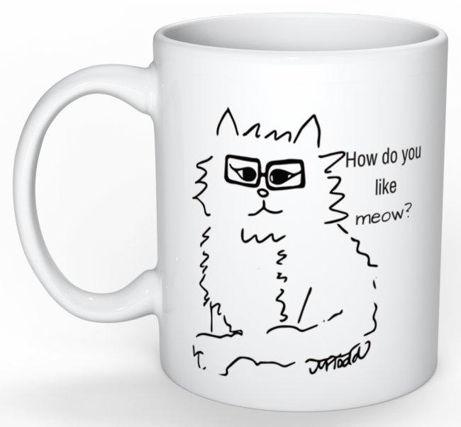How do you like meow mug