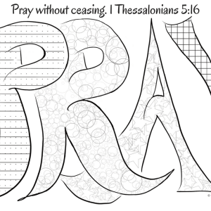 Lord's Prayer Coloring Page – Children's Ministry Deals | 300x300