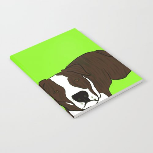Chico The Brindled Pit Bull Notebook