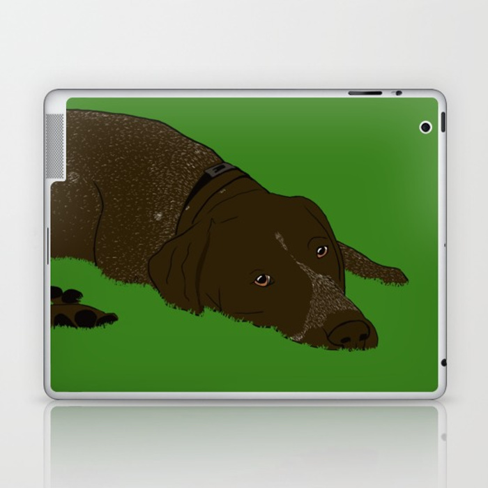 German Shorthaired Pointer Laptop Skin