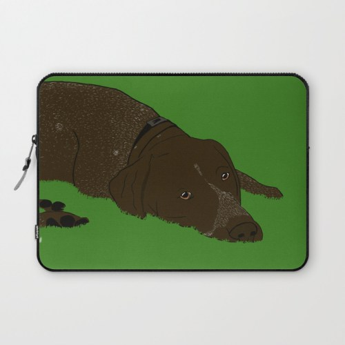 German Shorthaired Laptop Skin