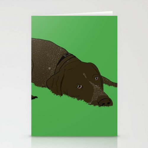 Gunner The German Shorthaired Pointer greeting cards