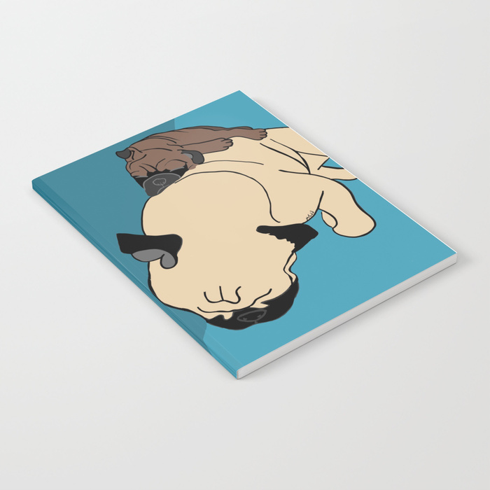 Pug and Puppy Napping Journal