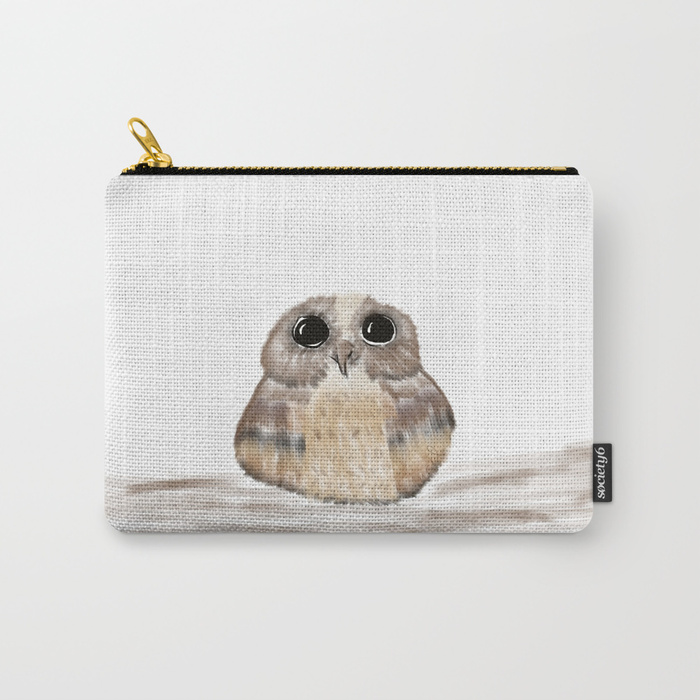 Sweet Owl Carry All Pouches