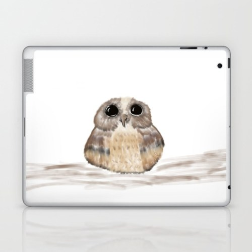 Sweet Owl Laptop Skin