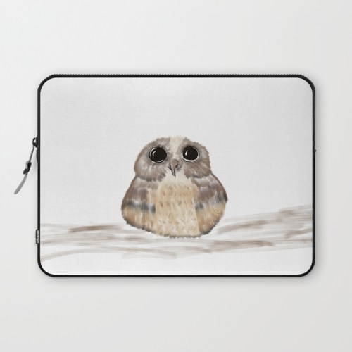 Sweet Owl Laptop Sleeve