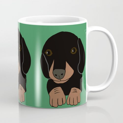 Dachshund Puppies Galore Coffee Mug