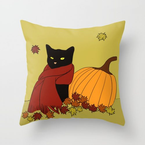 Cascade The Black Cat Welcomes Fall