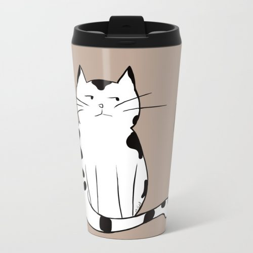 Java The Coffee Cat Travel Mug