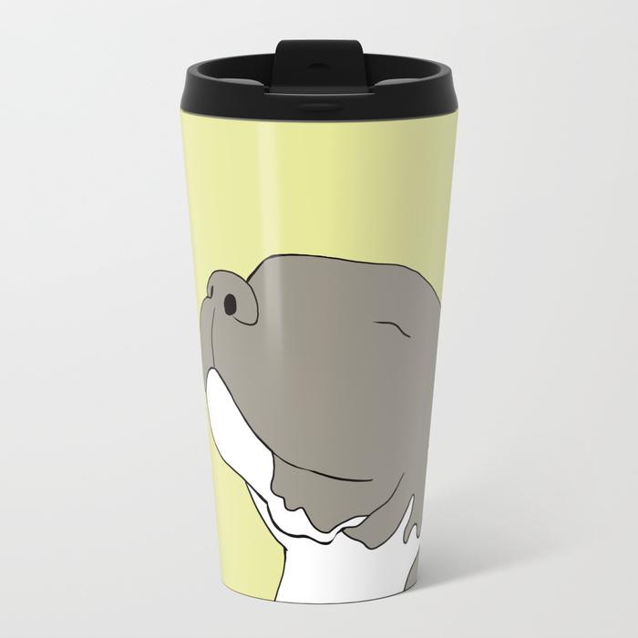 Sunny The Pitbull Puppy Travel Mug