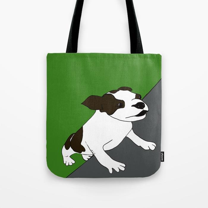 Annie The Boston Terrier Tote Bag
