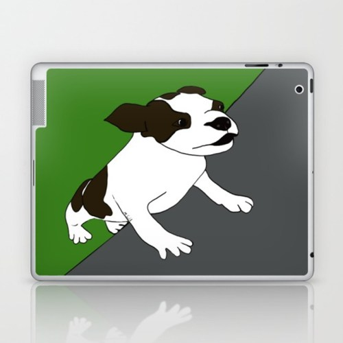 Annie The Boston Terrier Laptop Skin