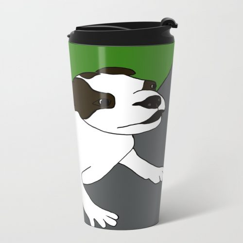 Annie The Boston Terrier Travel Mug