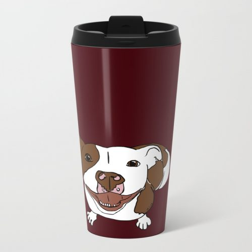 Celia Mae The Pit Bull Travel Mug