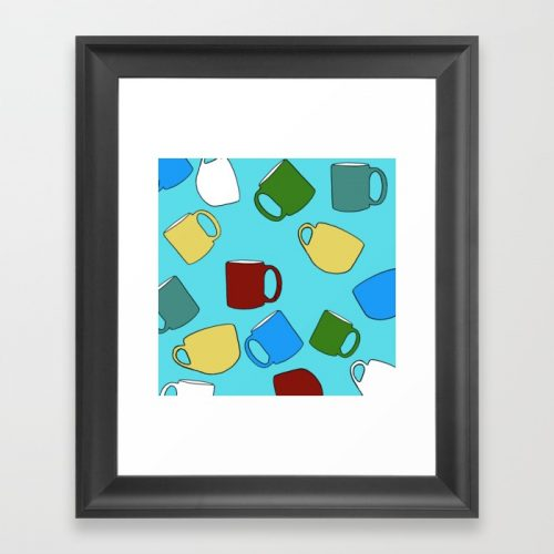 Coffee Mugs Framed Print