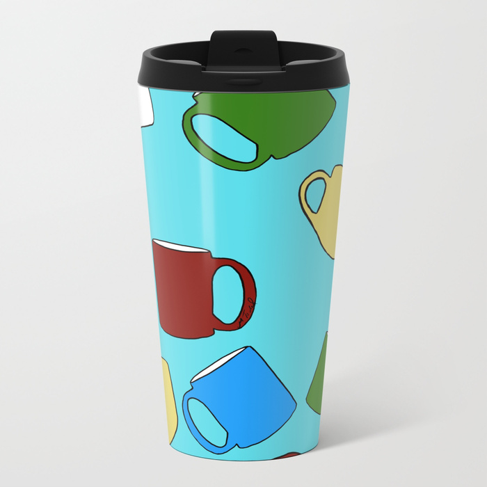 Coffee Mugs Metal Travel Mug