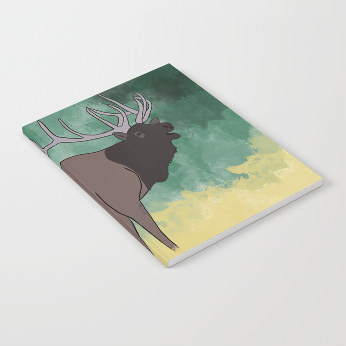 Bull Elk Bugling Notebook