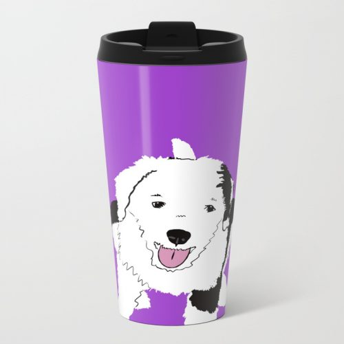Gypsy the Sheepadoodle Travel Mug