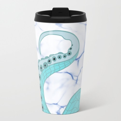 Wrapped In Tentacles Travel Mug