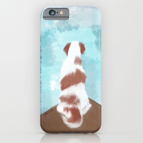Deschutes The Brittany Spaniel Iphone or Ipod Case
