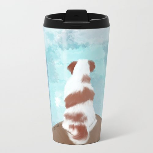 Deschutes The Brittany Spaniel Travel Mug