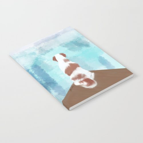 Deschutes The Brittany Spaniel Notebook