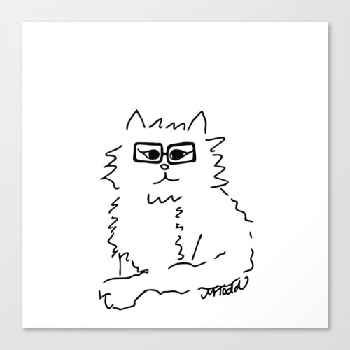 How Do You Like Meow Canvas Print by Melinda Todd