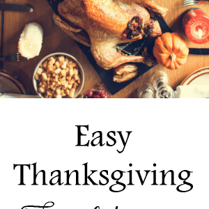 Easy Thanksgiving Tradition