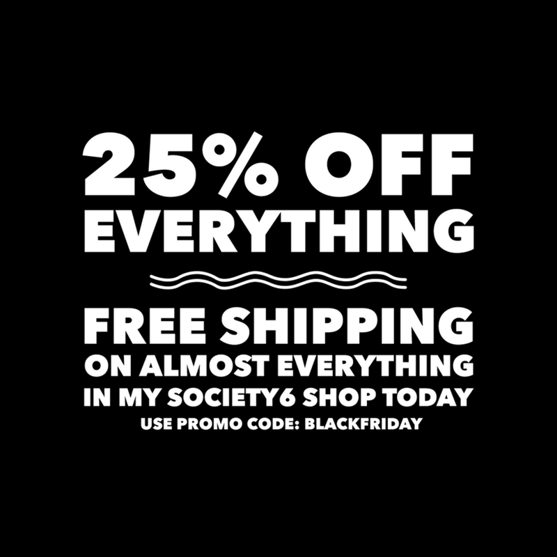 Black Friday Society6 Sales