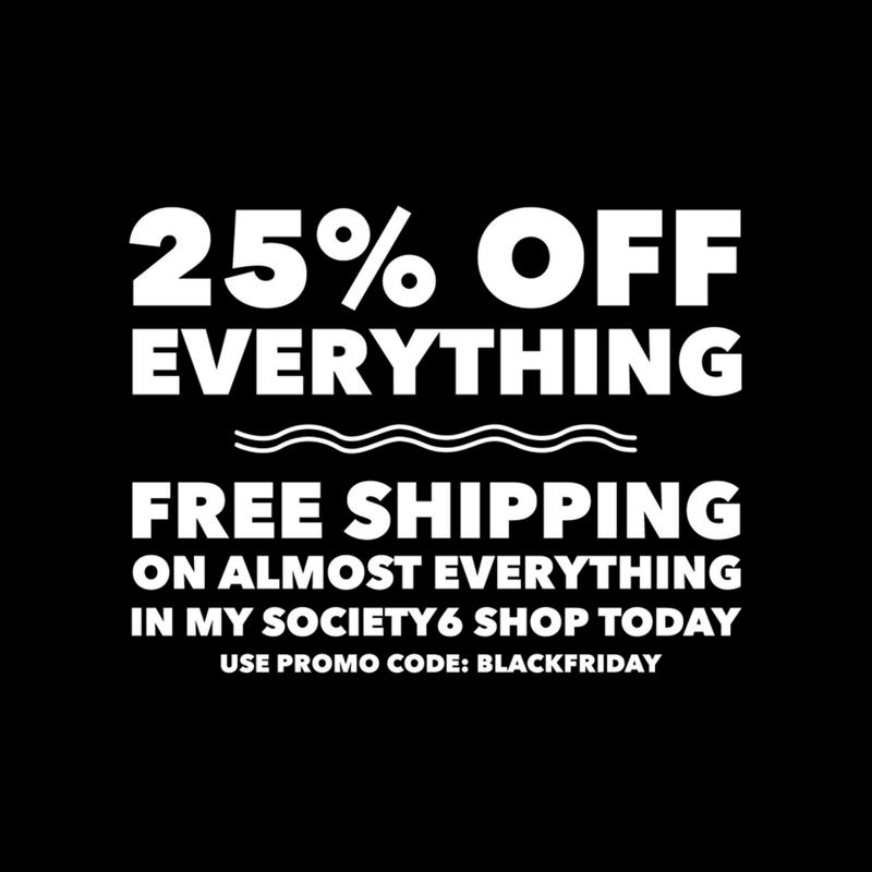 Black Friday Society6 Sales