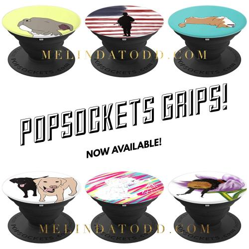 PopSockets Grips by Mel's Doodle Designs