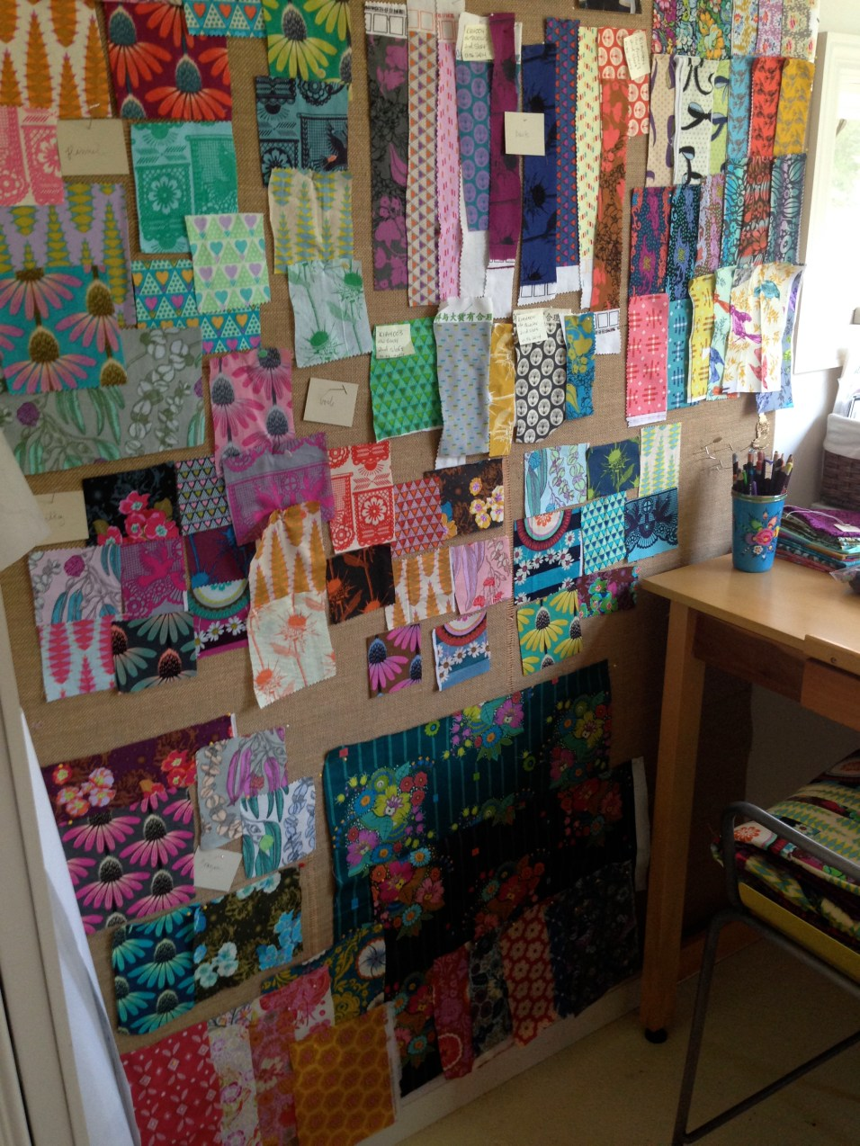New fabric collections in progress