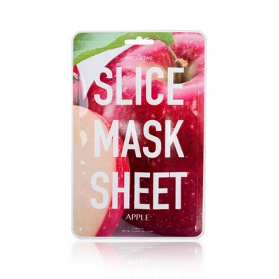 1KOCOSTAR Apple Slice Mask Sheet,gaivinanti veido kaukė,20ml
