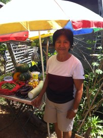 Growing vegetables for the community4