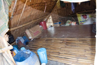 inside jennifer's typhoon damaged house
