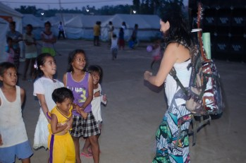 Dancing with the kids