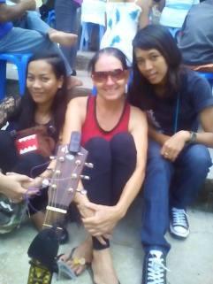 Maecy and Sandata: I love you.