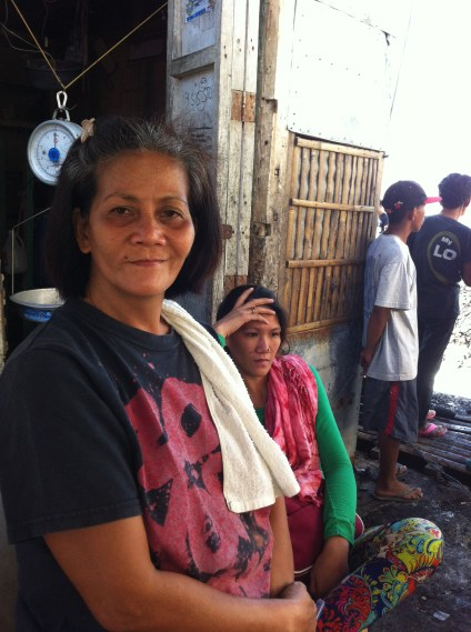 """At least after Typhoon Yolanda we were able to salvage some stock. This fire has taken everything"""