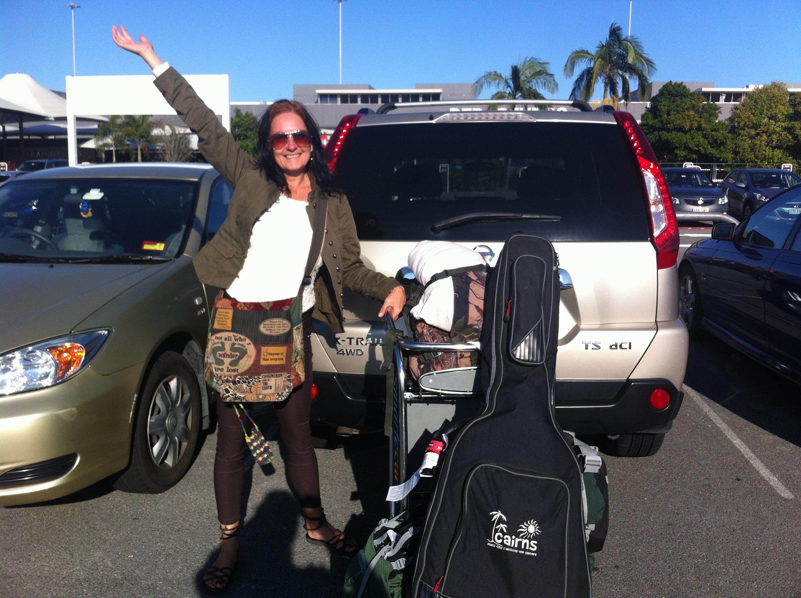 At the Gold Coast Airport 2014.