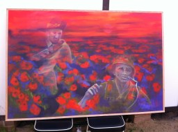 Themed for the 100 year anniversary in 2015 of the ANZACs.