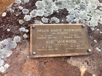 helen marie horwood and alec horwood resting in bannockburn cemetery