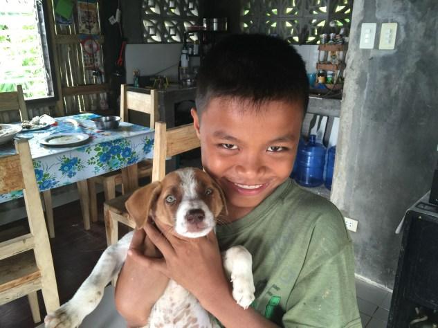 Antonio and flippears! Filipino children are a delight.