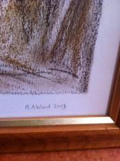 Signature of the artist