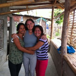 saying goodbye to annabel and maricel