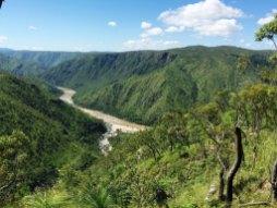 Downstream from Blencoe Falls