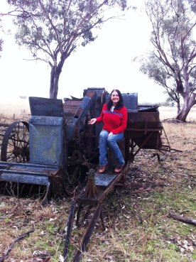 mel modelling the old harvester