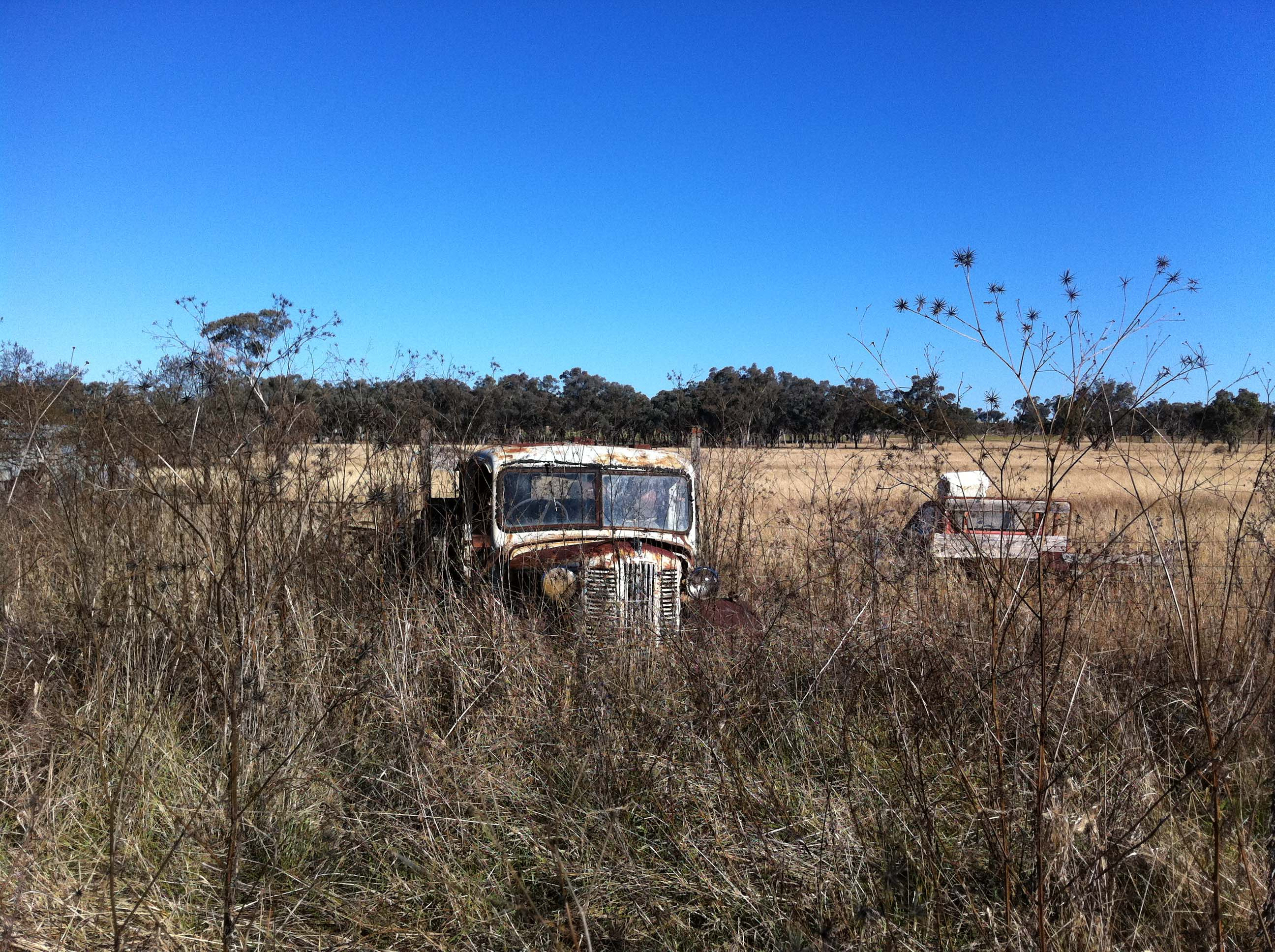 The old Bedford Truck at 'Raleigh' Oakwood.